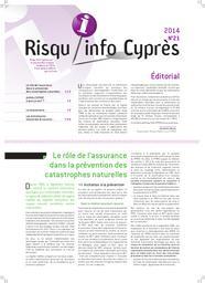 Risqu'info Cyprès n°21. n°21 |