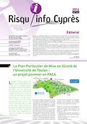 Risqu'info Cyprès n°24. n°24 |