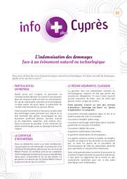 InfoPlus Cyprès n°01. n°01 |