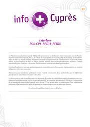InfoPlus Cyprès n°03 = Centre d'information pour la prévention des risques majeurs. n°03 |