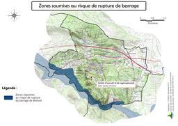 Risque de rupture de barrage sur la commune de Ventabren |