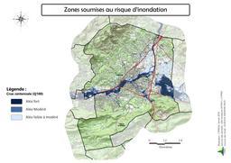 Risque inondation sur la commune d'Aubagne |