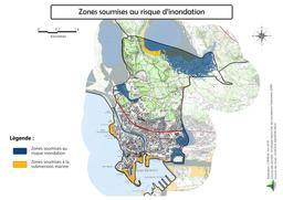Risque inondation et submersion marine à Port-de-Bouc |
