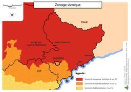 Risque sismique sur la commune de Caussols |