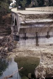 Crue du Lez Inondation Montjoux  |