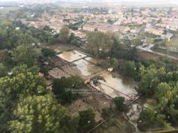 Inondation Villalier 2018 | BISCAY Jean-Frédéric. Photographe