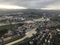Inondation Trèbes janvier 2020 | AVERSENQ Jean-Marie. Photographe