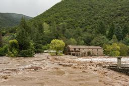 Inondation Saint André de Majencoules 2020   LHERMET Vincent