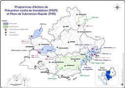 Programmes d'actions de prévention contre les inondations et plans de submersion rapide  |