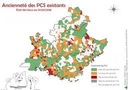 Etat des PCS existants au 01/06/2018 |