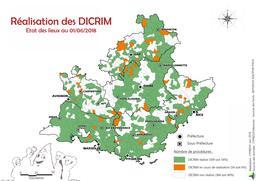 Etat des lieux : réalisation des DICRIM au 01/06/2018 |